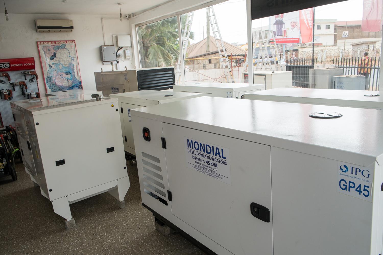 Electric power generators in Ghana