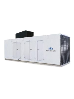 Electric generator enclosure IPG M1B in Ghana
