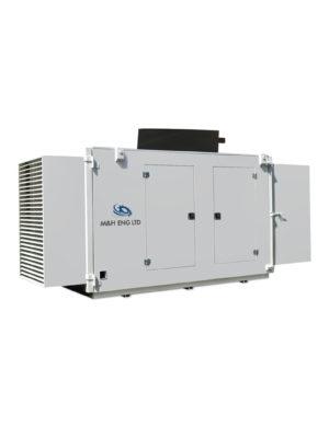 Electric generator enclosure IPG M2B in Ghana