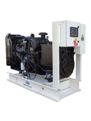 Diesel electric power generator IPG100 in Ghana
