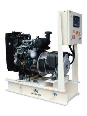 Diesel electric power generator IPG13 in Ghana
