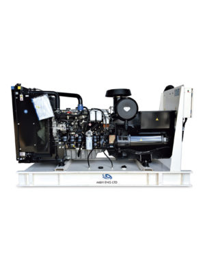 Diesel electric power generator IPG180 in Ghana