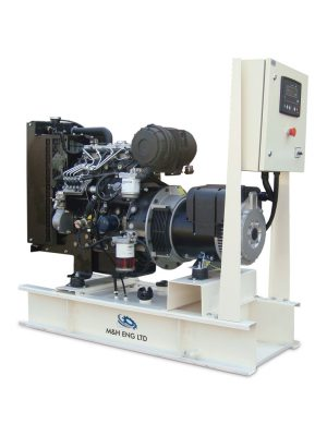 Diesel electric power generator IPG20 in Ghana