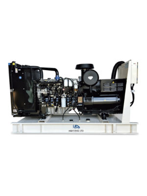 Diesel electric power generator IPG200A in Ghana