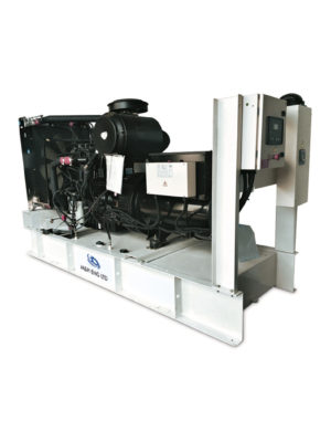 Diesel electric power generator IPG200B in Ghana
