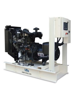 Diesel electric power generator IPG30 in Ghana