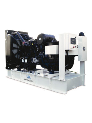 Diesel electric power generator IPG350 in Ghana