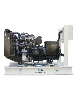 Diesel electric power generator IPG45 in Ghana