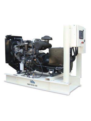 Diesel electric power generator IPG80 in Ghana