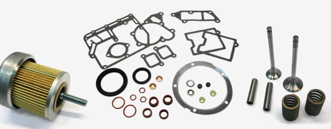 Lister Petter engine parts in Ghana