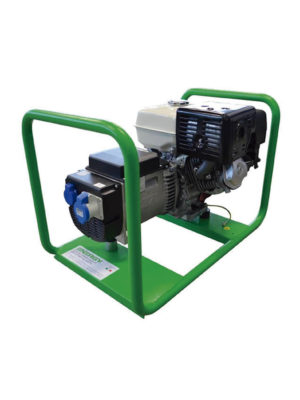 Petrol electric power generator Energy EY 5,5 MBE in Ghana