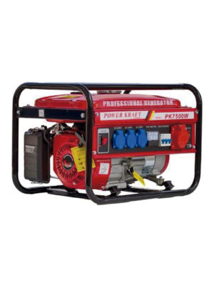 Petrol electric power generator Power Kraft 7500 in Ghana
