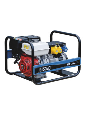 Petrol electric power generator SDMO HX 4000 in Ghana